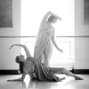 Sandra Zarotney Keldsen and Kelli Edwards - Dances by Isadora Boston - Photo by Julie Cordeiro