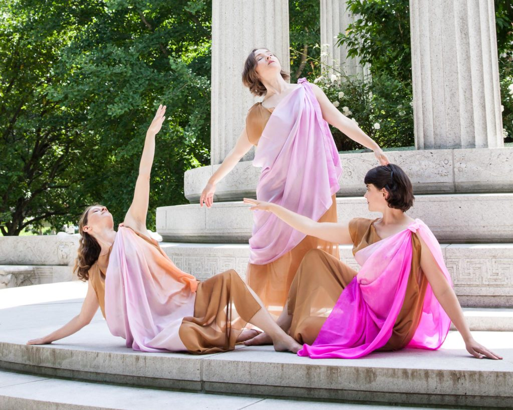 Sandra Zarotney-Keldsen, Kelli Edwards, Irene Lutts - Dances by Isadora Boston